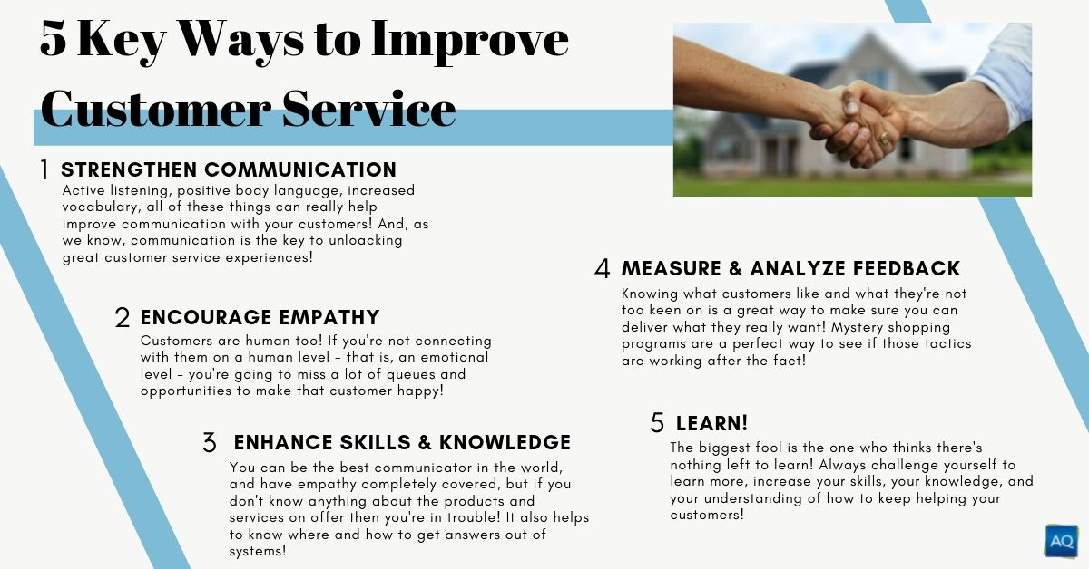 5 Ways to Improve Customer Service