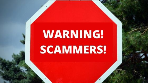 Scam Alert! Warning!