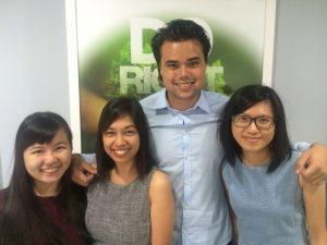 Singapore Team 4 - visiting KL